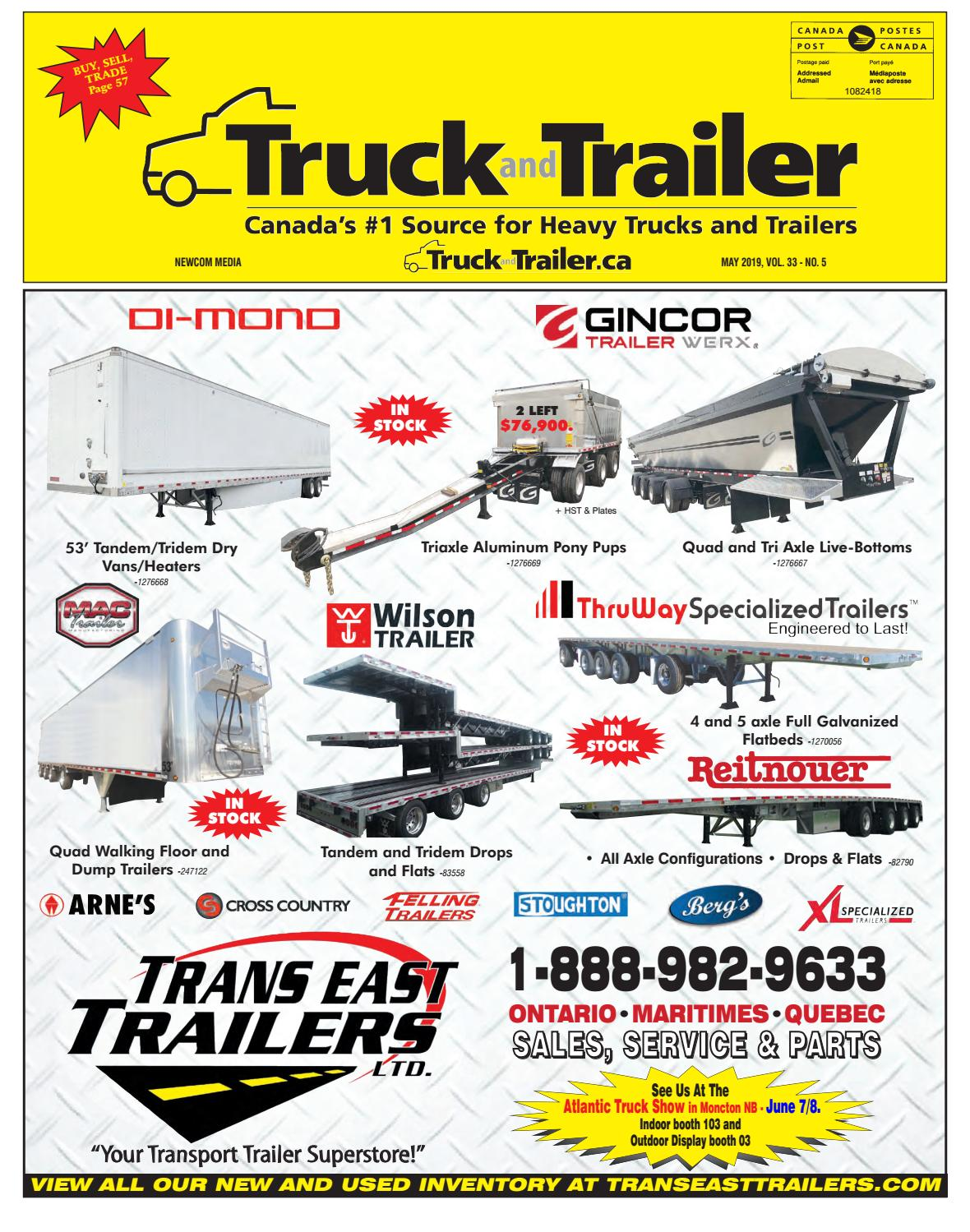 Truck and Trailer May 2019 by Annex Business Media - issuu