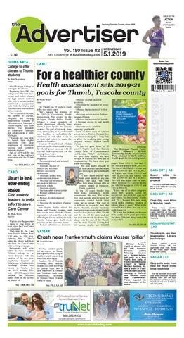 TCA 5-1-19 by Tuscola County Advertiser - issuu