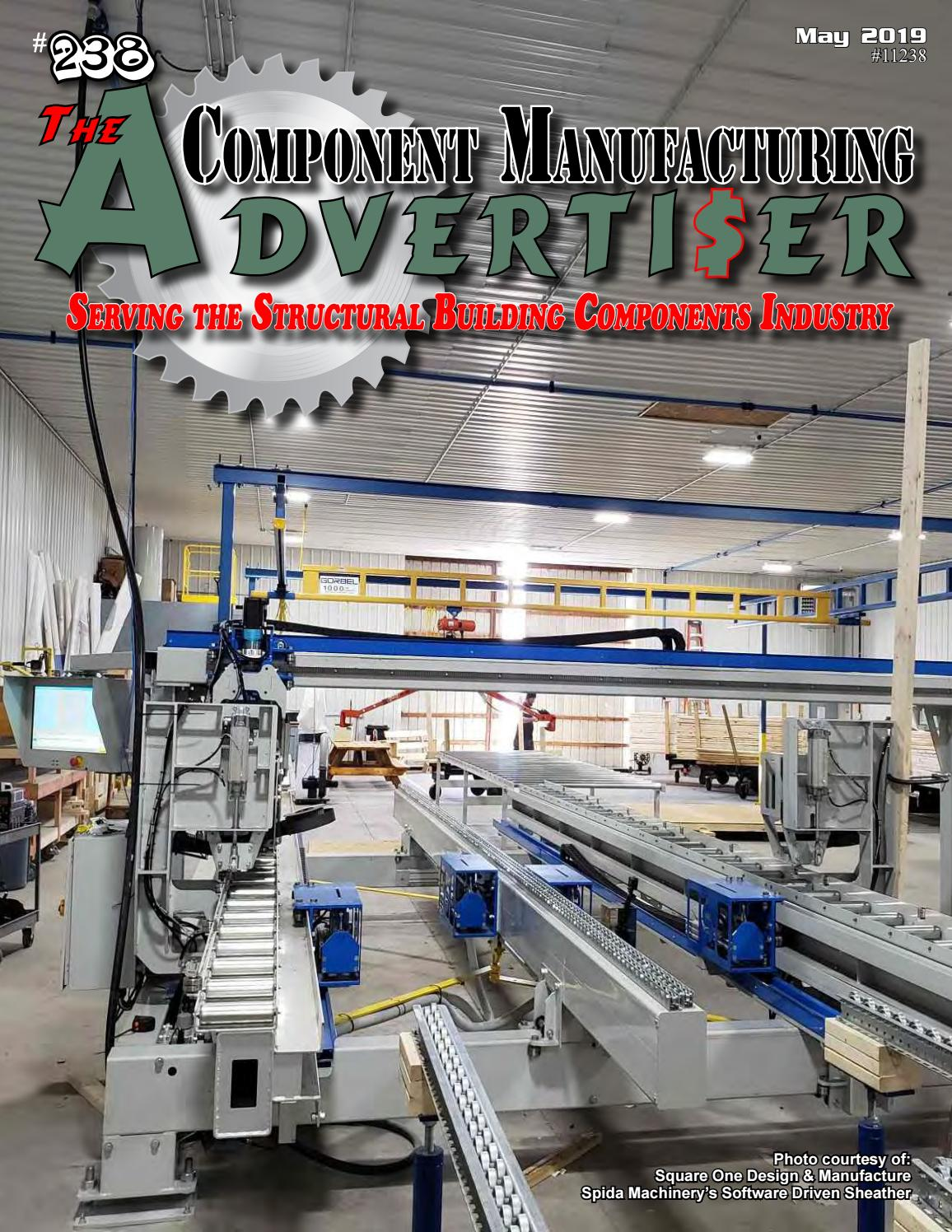 May 2019 Advertiser by Component Manufacturing Advertiser