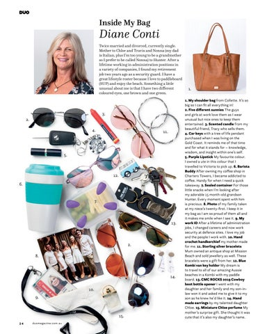 Page 24 of Diane Conti Inside My Bag
