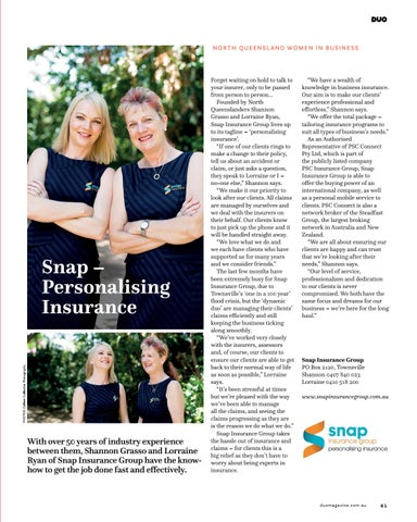 Page 61 of Snap - Personalising Insurance