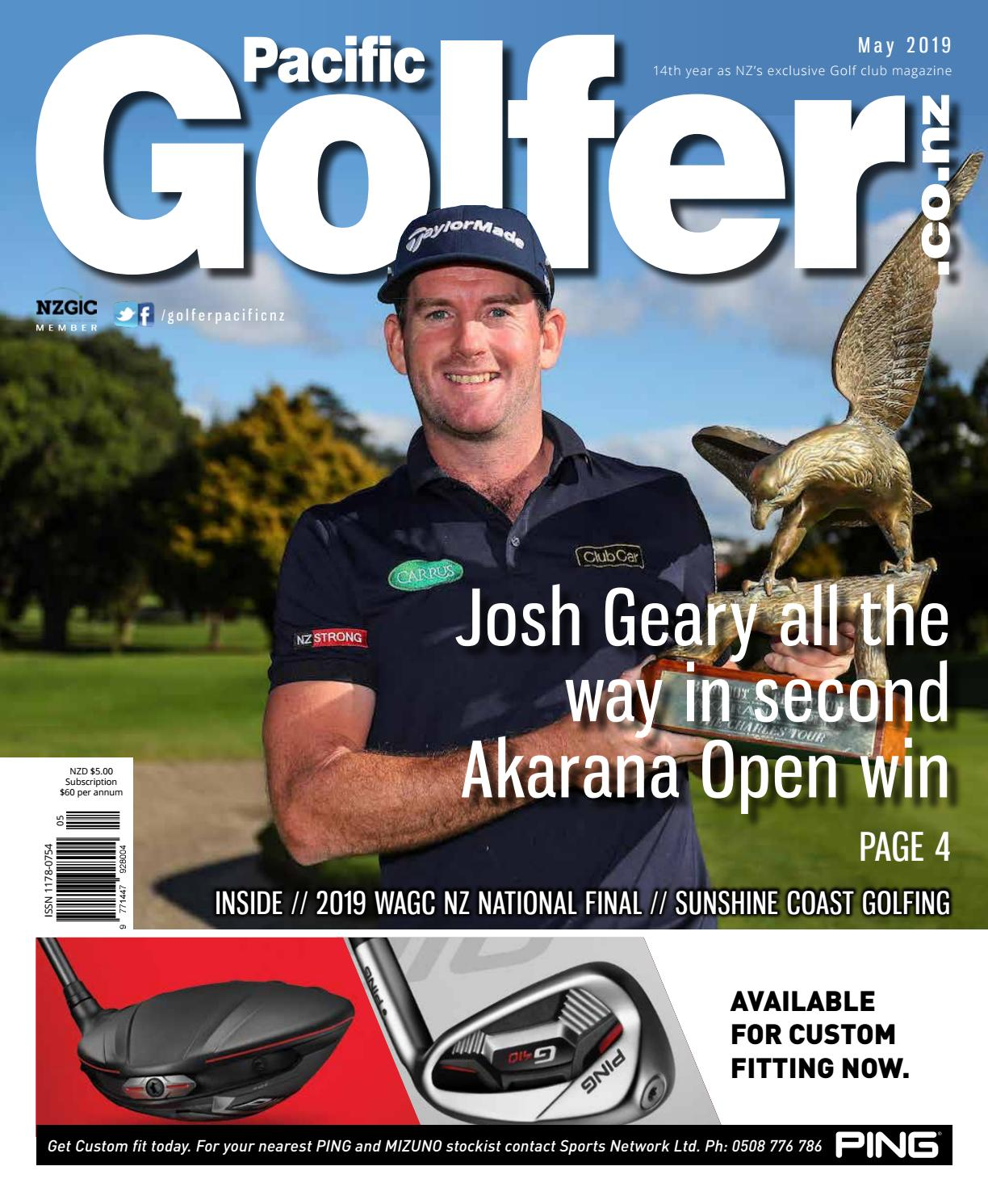 Golfer Pacific NZ – May 2019 by Golfer Pacific NZ - issuu