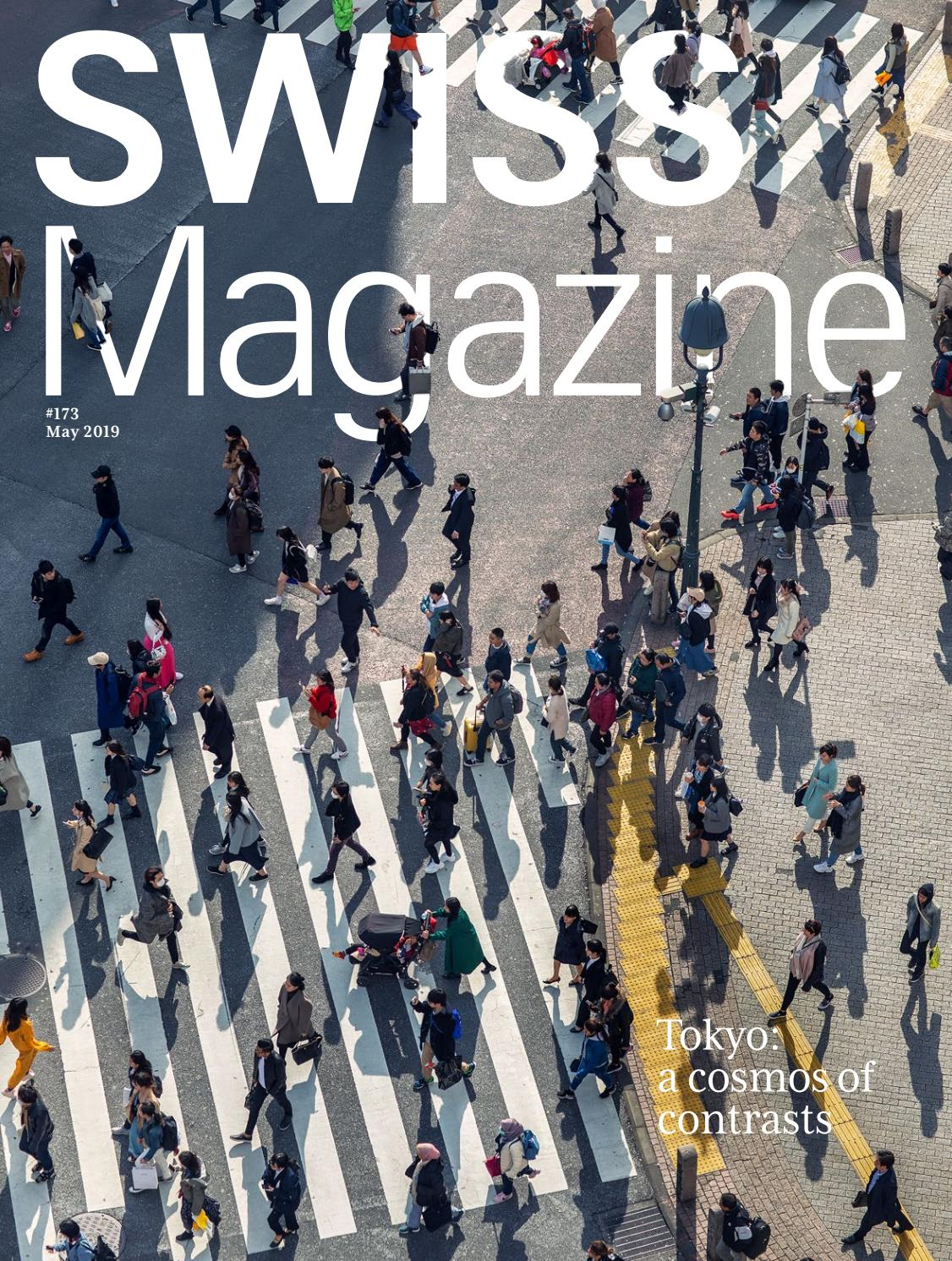 SWISS Magazine May 2019 - Tokyo by Swiss International Air ...