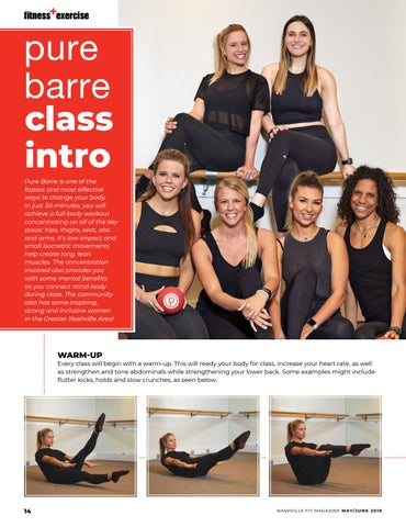 Page 14 of Pure Barre Class Intro