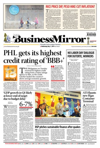 1fd4111ada BusinessMirror May 01, 2019 by BusinessMirror - issuu