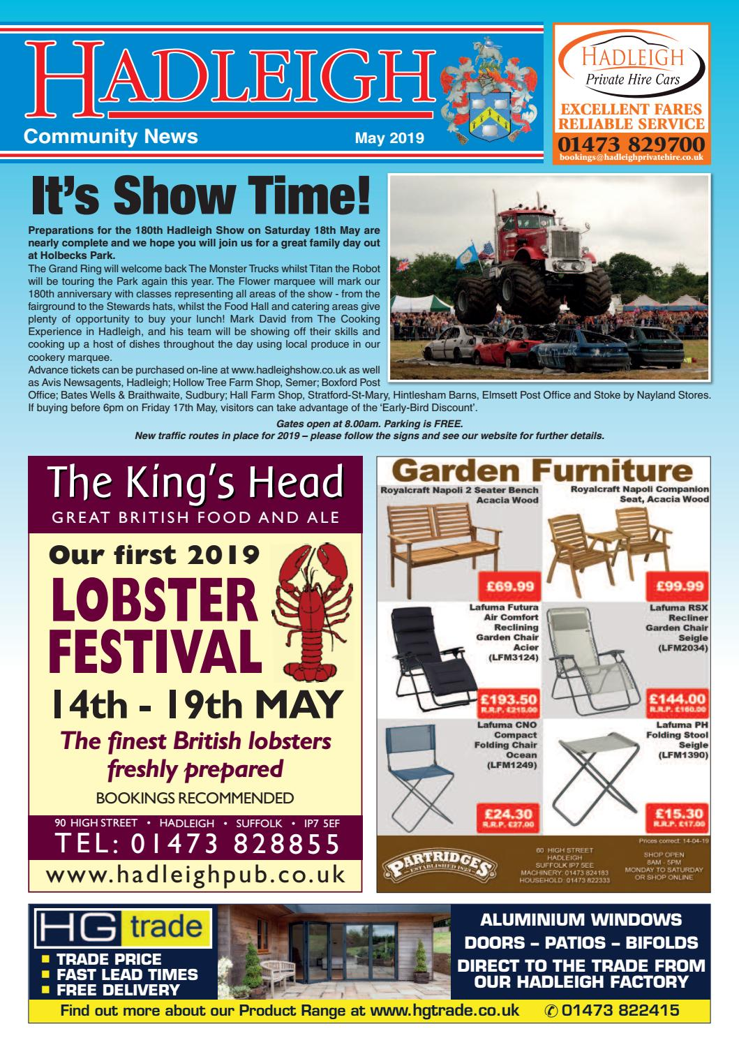 Hadleigh Community News, May 2019 by Keith Avis Printers - issuu