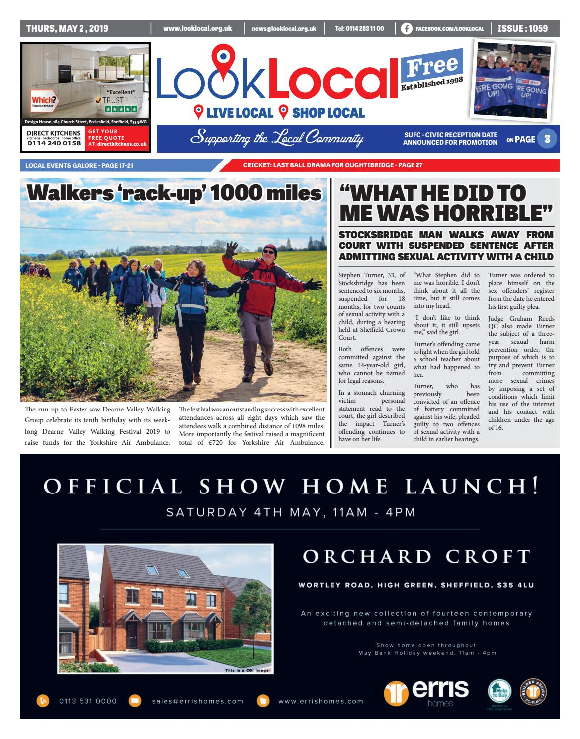 Issue 1059 Thursday 2 May 2019 by Look Local Newspaper - issuu