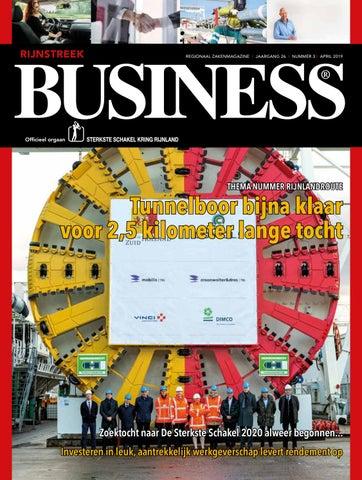 Rijnstreek Business Nummer 3 April 2019 By Rijnstreek