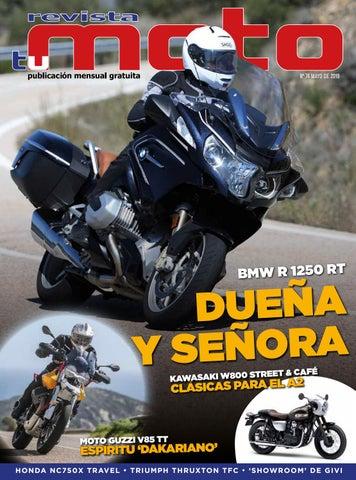 a6299a3a574 Revista Tu Moto mes de mayo de 2019.Número 74. by Revista Tu moto ...