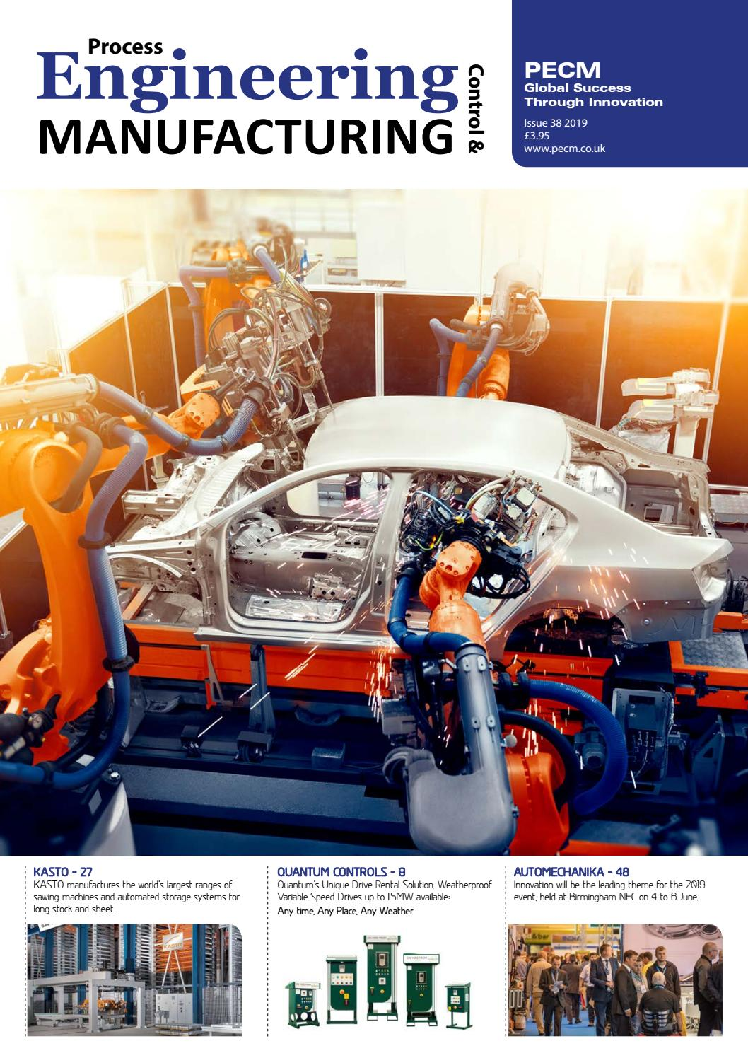 Process Engineering Control & Manufacturing Issue 38 2019 by