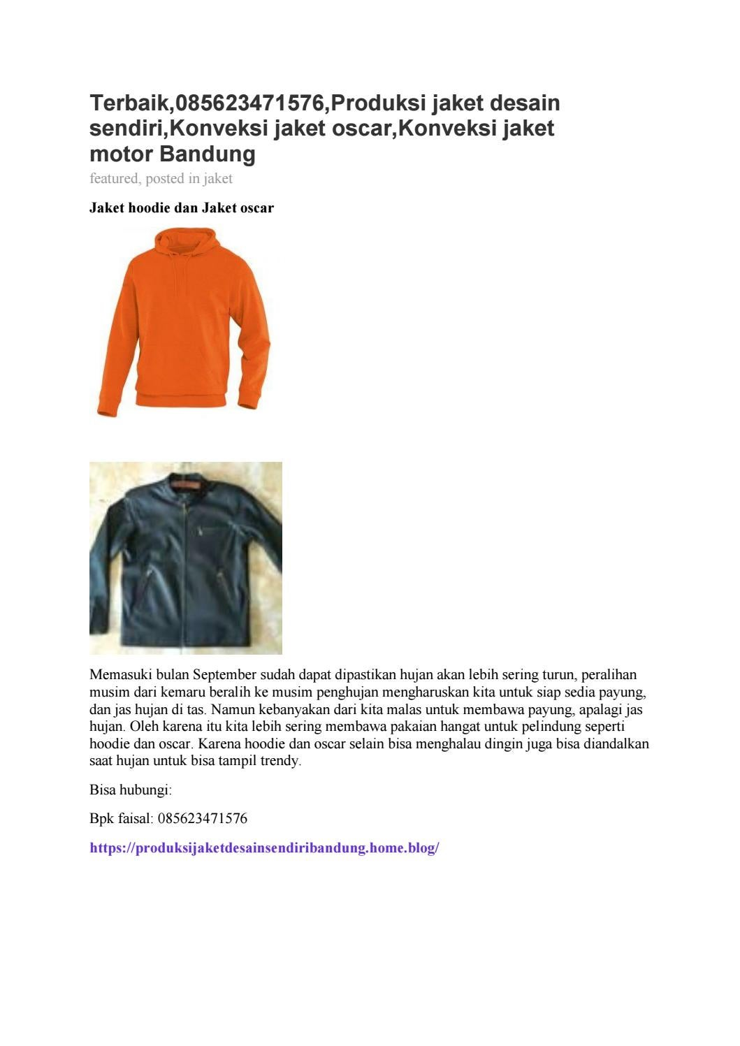 570 Koleksi Desain Jaket Hoodie Sendiri HD Terbaru