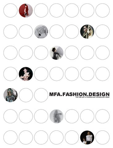 Mfa Fashion Design The Fine Art Of Fashion And Technology Issue By Fitnyc105 Issuu