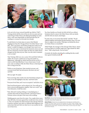 Page 11 of Celebrating Love, Friendship, & Family in the Fisher House