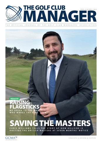 The Golf Club Manager: April 2019 by Golf Club Managers