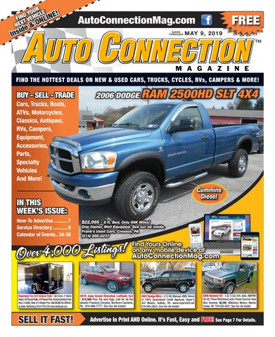 05-09-19 Auto Connection Magazine by Auto Locator and Auto