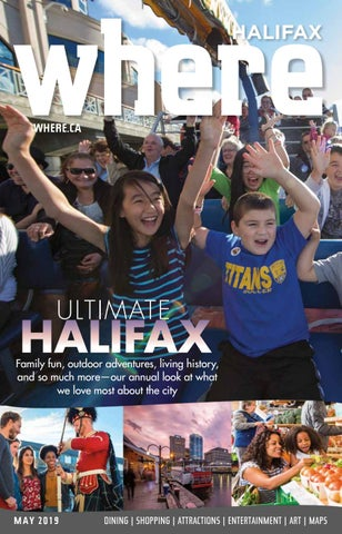 Where Halifax May 2019 by Metro Guide Publishing - issuu