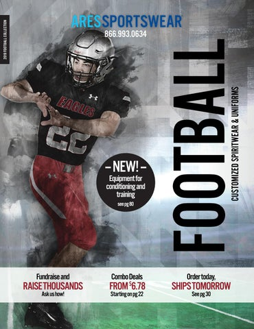 ed637423 2019 Ares Sportswear Football Catalog by Ares Sportswear - issuu