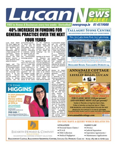 Lucan News 15 04 19 by Newsgroup - issuu