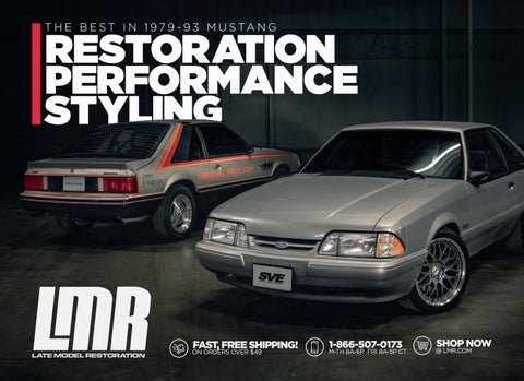d584c0c4d77eb 1979-93 Fox Body Mustang Catalog by Late Model Restoration - issuu