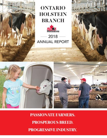 2018 Ontario Holstein Branch Annual Report by Ontario Holstein