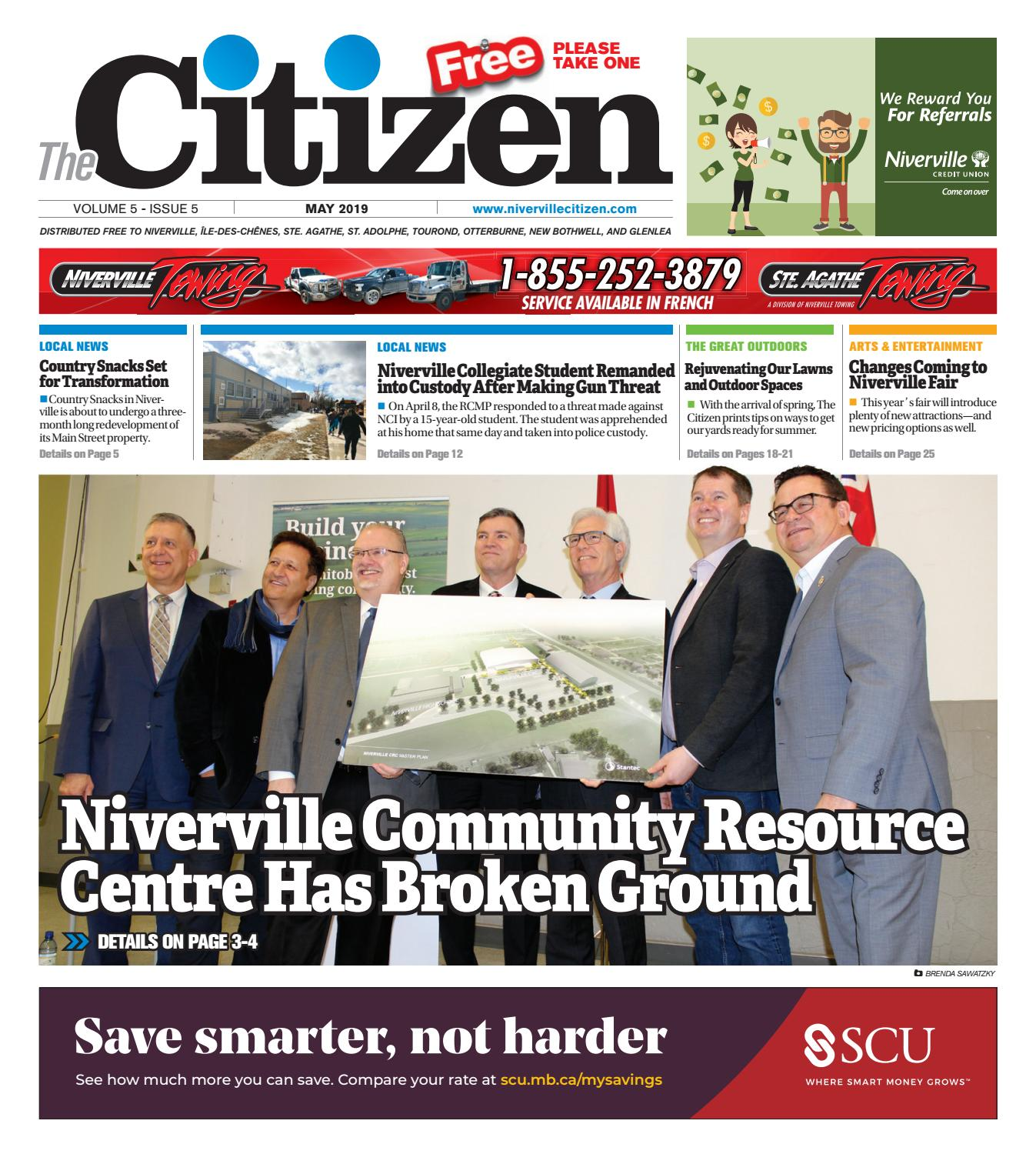 May 2019 by Niverville Citizen - issuu