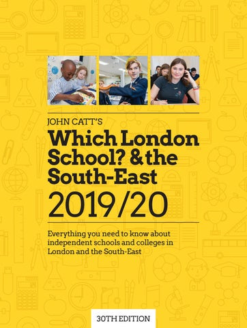 John Catt's Which London School? & the South-East by