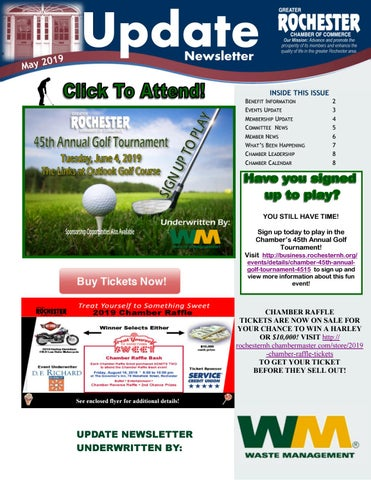 May 2019 Newsletter Inserts by Greater Rochester Chamber of Commerce