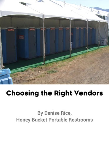 Page 7 of Choosing the Right Vendors