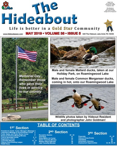 The Hideabout May 2019 by The Hideout - issuu