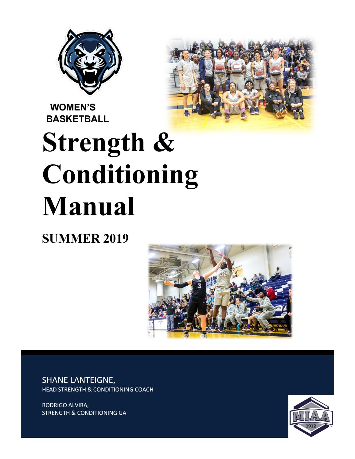 262d53b00 2019 Lincoln Women s Basketball Summer Manual - Returning Athletes ...
