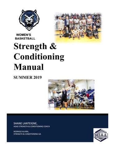 2019 Lincoln Women's Basketball Summer Manual - Returning Athletes
