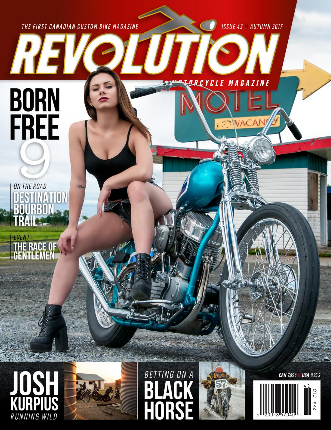 REVOLUTION MOTORCYCLE MAG - English - Issue 42 Autumn 2017 by