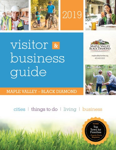 6cdd61852f7b Maple Valley Black Diamond Chamber of Commerce 2019 Visitor   Business Guide