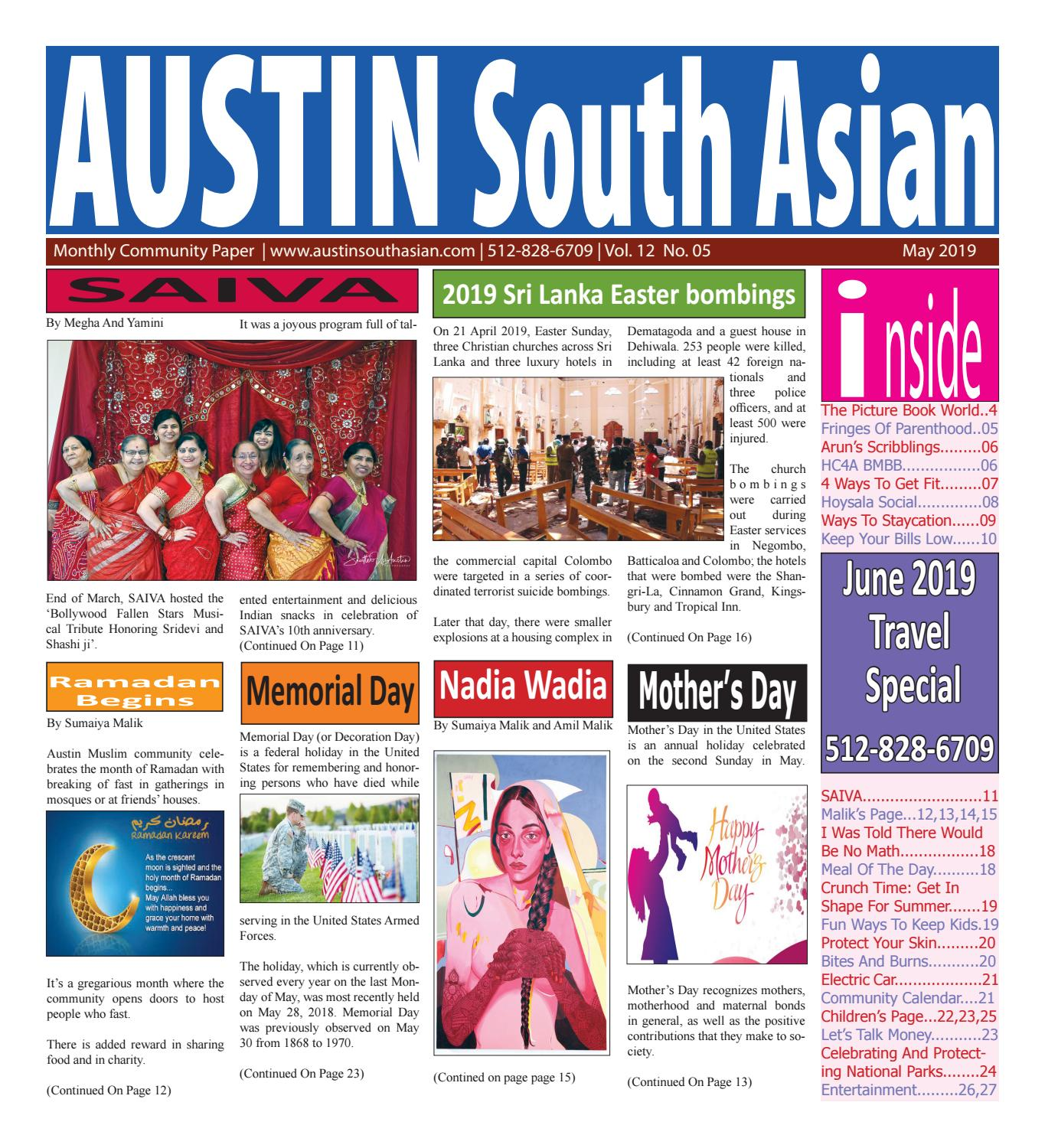 Austin South Asian  May  2019 by Austin South Asian - issuu