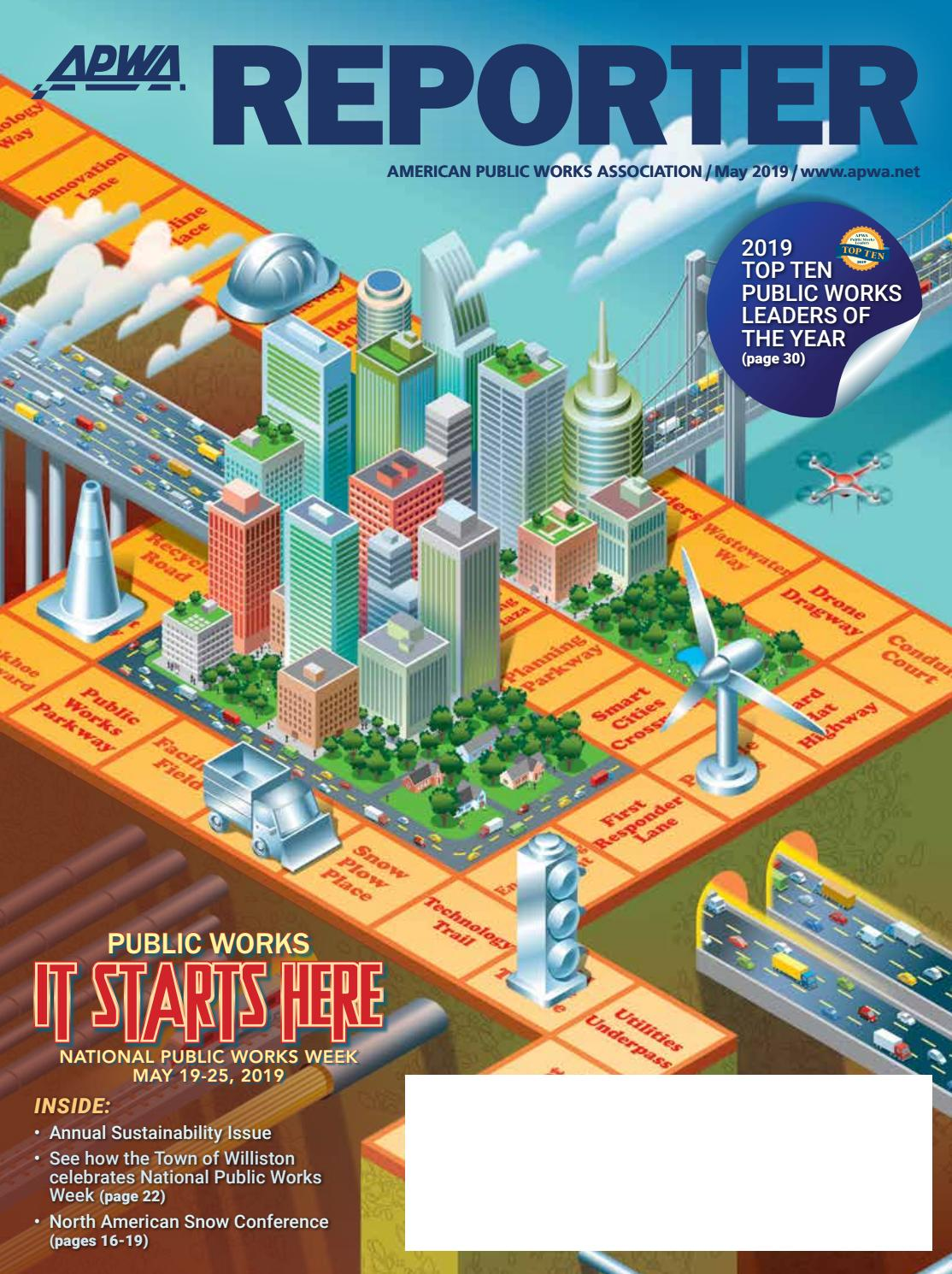 APWA Reporter, May 2019 issue by American Public Works