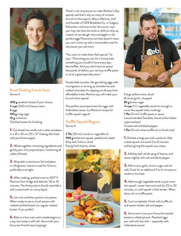 Page 11 of Chefs' Tips & Tricks! Mother's Day Brunch