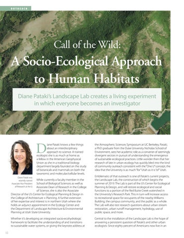 Page 14 of Call of the Wild: A Socio-Ecological Approach to Human Habitats