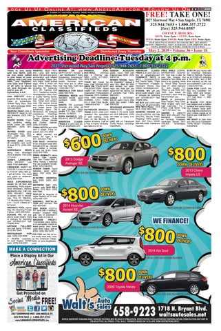 American Classifieds May 16 2019 By Issuu