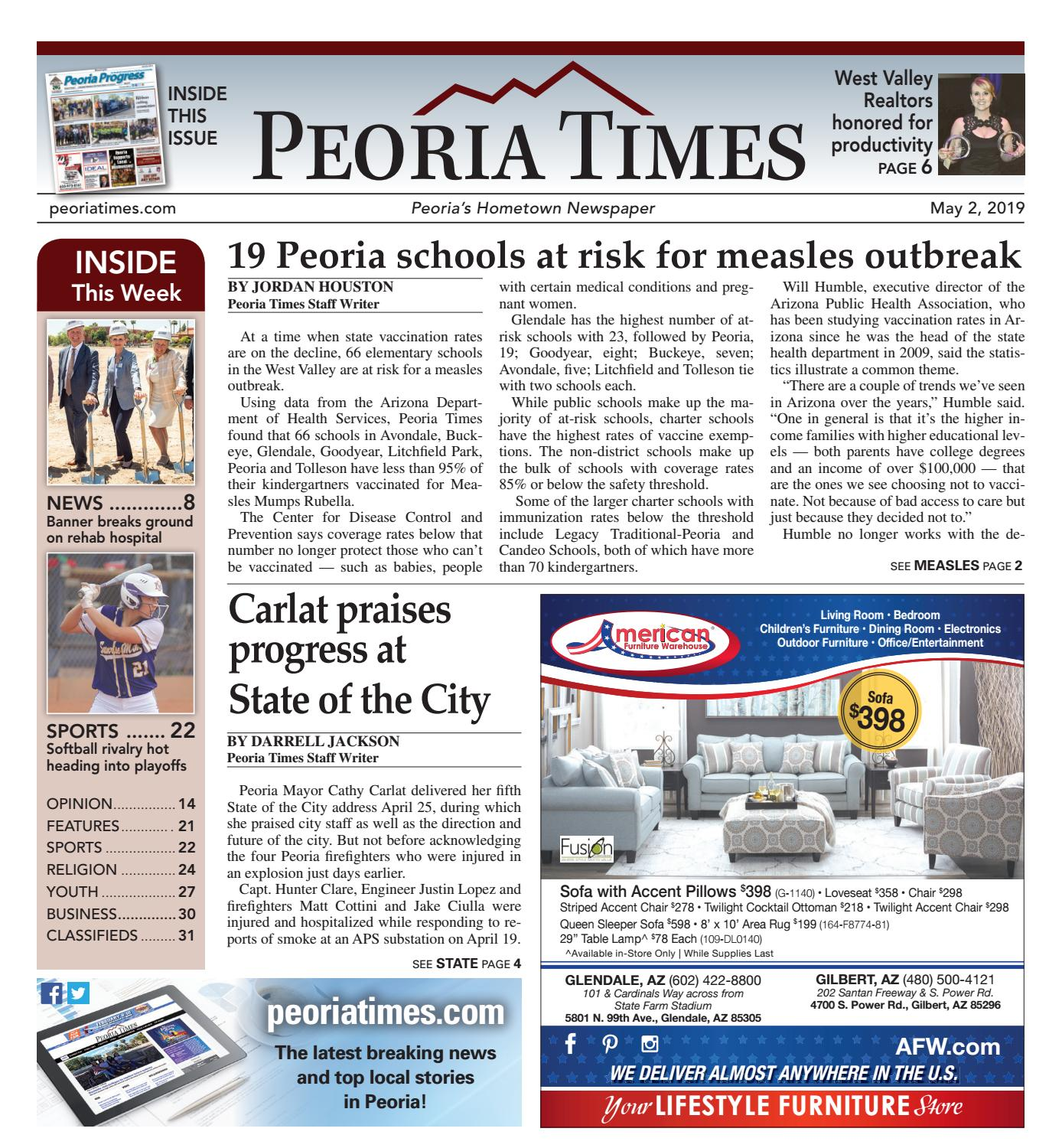 Peoria Times 05-02-2019 by Times Media Group - issuu