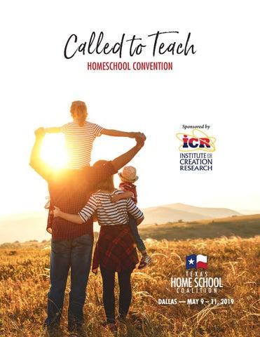 2019 Texas Homeschool Called to Teach Convention Program—Dallas by