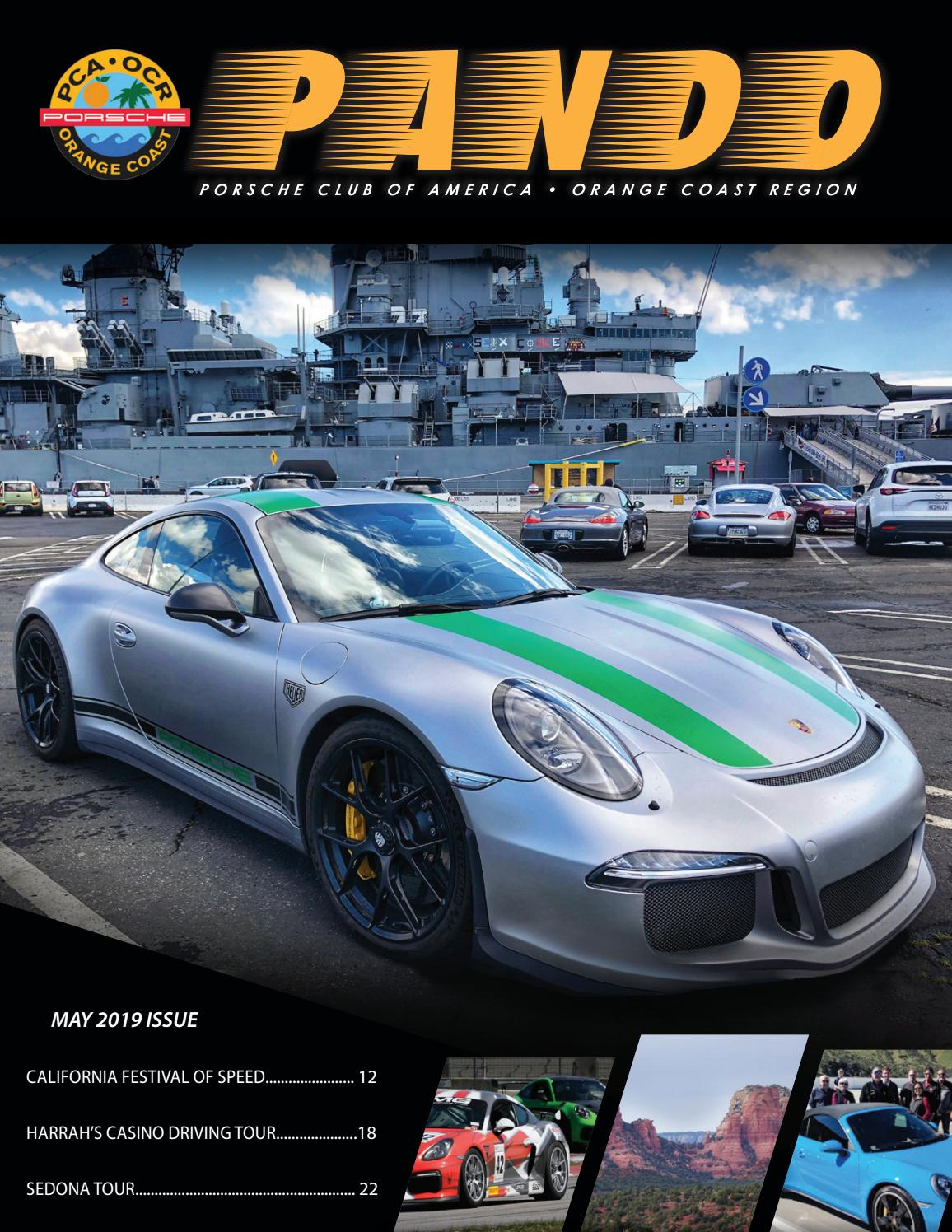 Awesome L@@K May 1987 Porsche PCA Panorama Magazine May 1987 RARE!