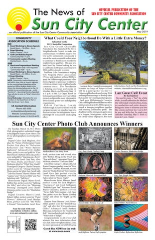 News of Sun City Center May 2019 by The News of Sun City Center