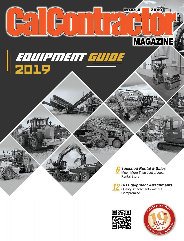 CalContractor - 2019 Equipment Guide