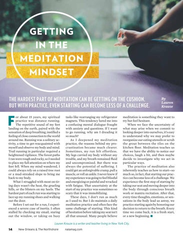 Page 14 of Getting in the Meditation Mindset