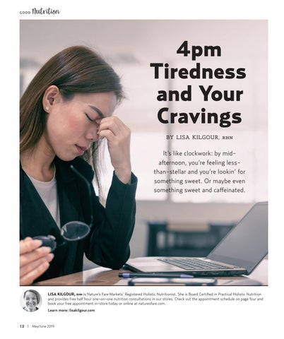 Page 12 of 4pm Tiredness and Your Cravings