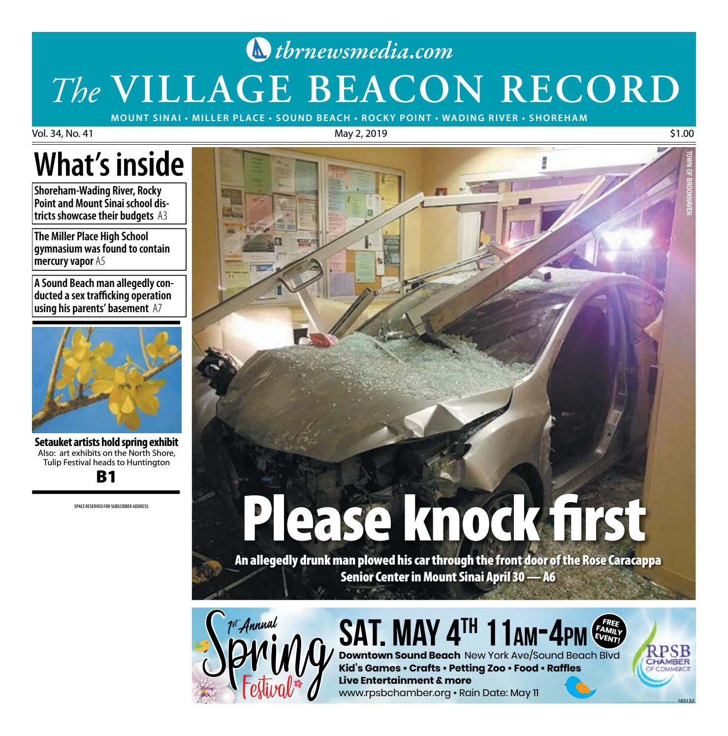 The Village Beacon Record - May 2, 2019 by TBR News Media