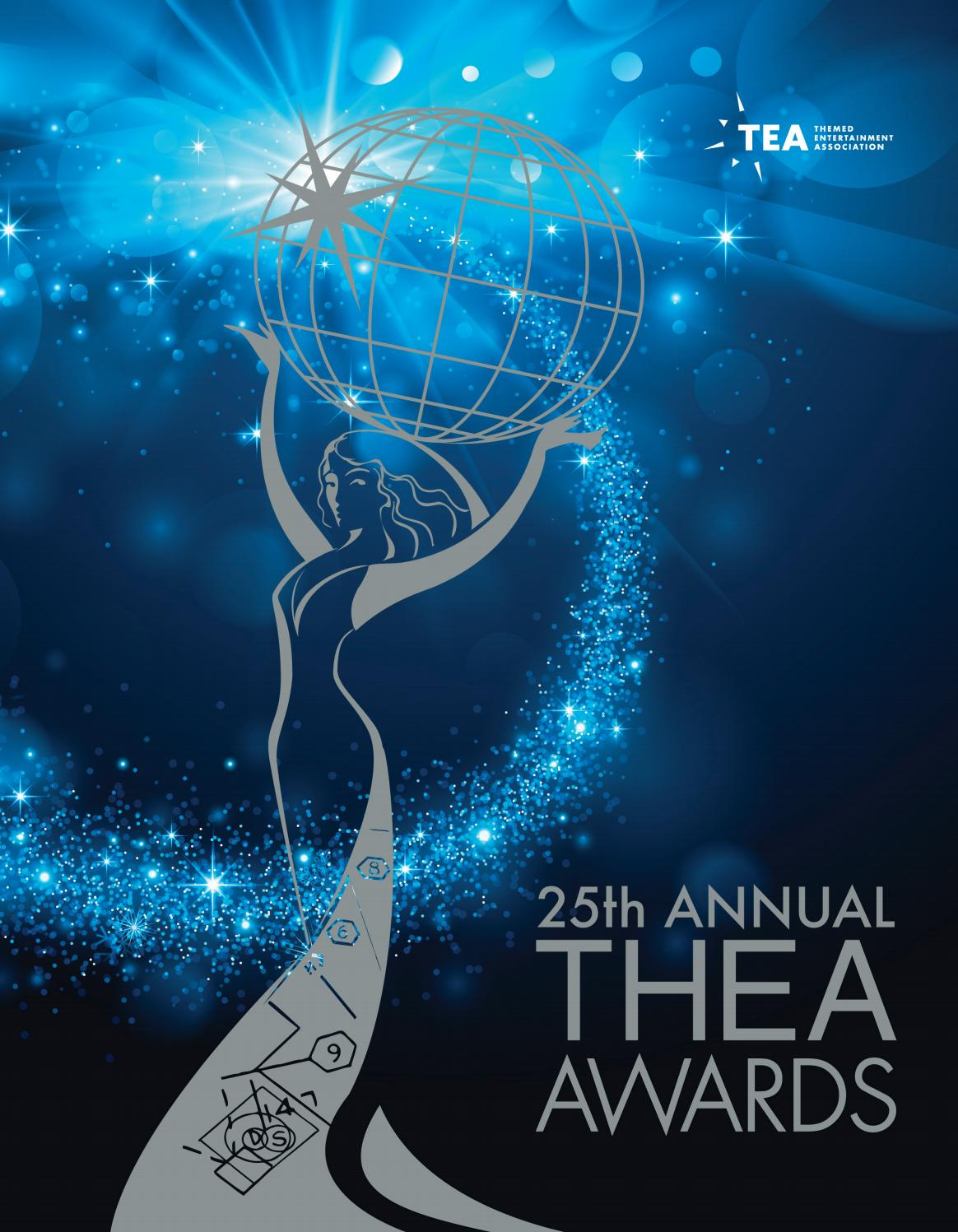 25th Annual TEA Thea Awards Program - April 2019 by Themed