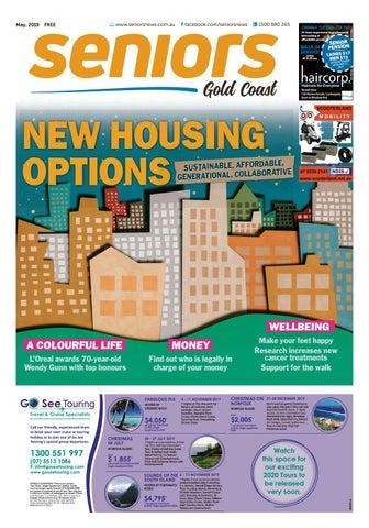 Gold Coast, May 2019 by seniors issuu