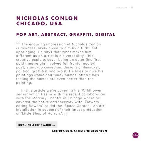 Page 39 of Artist Nicholas Conlon - Filmmaker and Political Graffitist