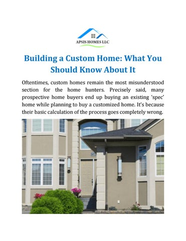 Home Builders Tampa Fl By Apsishomes Issuu